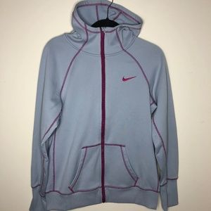 Nike Therma-Fit Fleece Lined Running Hoodie Large